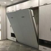 Шкаф-кровать вертикальная (двуспальная). Даже застилать не нужно!