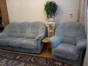 Мягкий уголок б/у (диван + два кресла)