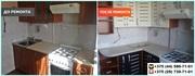 Замена и реставрация кухонных фасадов в Минске и области
